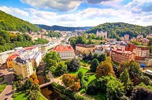 Karlovy Vary se snídaní a vířivkou