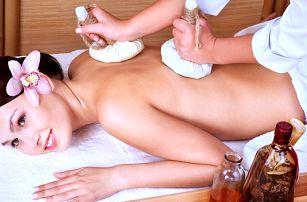 60minutová thajská masáž dle výběru a lázeň