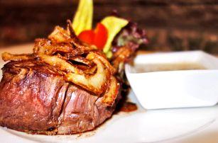 Menu pro milovníky masa: carpaccio a steak