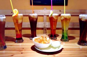 Pivní koktejly i v kombinaci s domácími lupínky