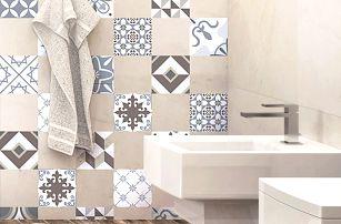 Sada 24 samolepek Ambiance Mosaic Portugal, 40 x 60 cm