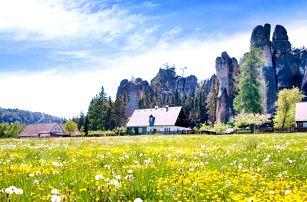 3 dny pohody a výletů nedaleko Adršpachu pro dva