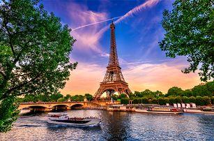 3denní zájezd pro 1 za romantikou do jarní Paříže