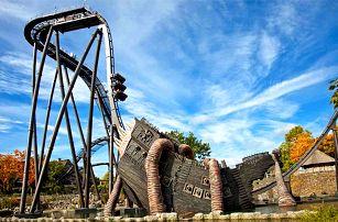 1denní zájezd pro 1 do zábavního parku Heide Park v Německu