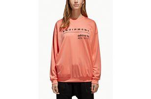 Mikina adidas Originals Eqt Sweatshirt Oranžová