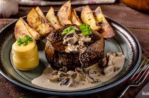 Vyzrálý jihoamerický hovězí steak podle výběru