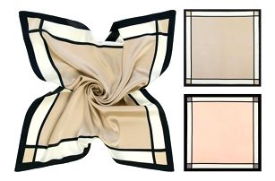 Elegantní hedvábný šátek Florence