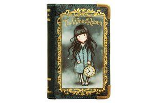 Peněženka Santoro London The White Rabbit, 10 x 15 cm