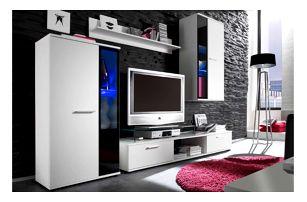 Obývací stěna STRAKOŠ SAL bílá