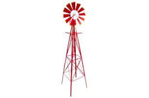 Tuin Větrný mlýn červený, 245 cm
