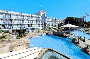 Kotva - hotel s miniaquaparkem vhodný zejména pro rodiny s dětmi.