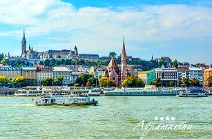 Romantická Budapešť v 4* historickém botelu na hladině Dunaje s lahví šampaňského i se snídaní
