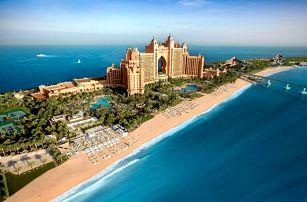 Spojené arabské emiráty - Dubai na 7 až 8 dní, polopenze nebo snídaně s dopravou letecky z Prahy