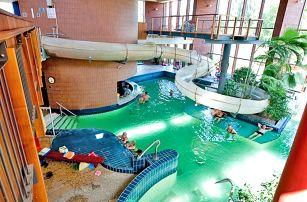 Maďarsko, Györ: Hotel Danubius Rába**** s polopenzí a se vstupem do lázní, po celý rok