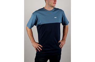 Tričko Vans Mn Colorblock Tee Copen Blue Modrá