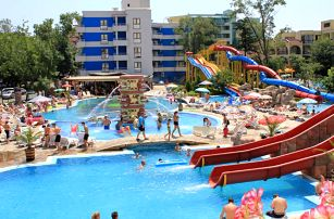 Bulharsko, Slunečné pobřeží, odlet Praha: Kuban Resort & Aquapark, all inclusive