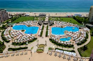 Bulharsko, Slunečné pobřeží, odlet Brno: Luxusní Majestic Beach Resort**** přímo na pláži