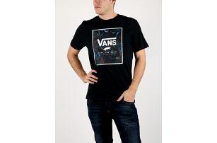 Tričko Vans Mn Print Box Black/Neo Černá