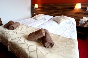 Hotel Palcát v Táboře na 2-4 dny pro dva s wellness a polopenzí