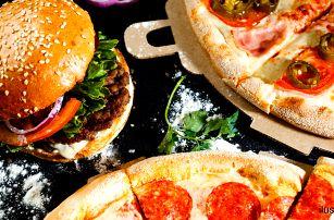 Pizzy, burgery nebo tortilly dle výběru s sebou