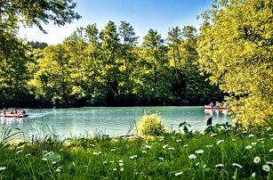 Aktivní léto na Sázavě: pobyt pro 2 s polopenzí