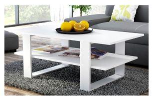 Konferenční stolek SALON bílá