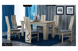 Jídelní stůl 160 cm dub sonoma