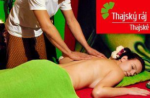90 minut relaxace: thajské masáže a Garra Rufa