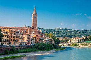 3denní zájezd pro 1 do Verony a k jezeru Lago di Garda v Itálii