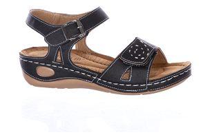 Super In Dámské sandály se suchým zipem a zapínáním na háček