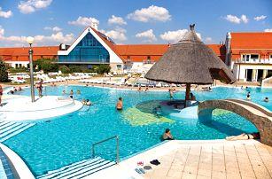 Maďarsko, Kehida Termál Hotel s venkovním aquaparkem