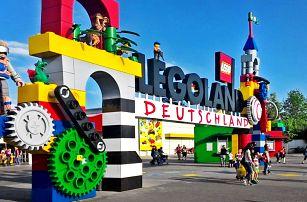 Prázdninový výlet do Legolandu a vstup na atrakce