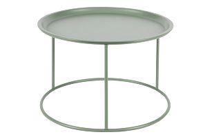 Světle zelený odkládací stolek De Eekhoorn Ivar, Ø56cm