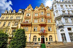 Skvostné Karlovy Vary ve 4* hotelu s balíčkem wellness procedur, vstupem do bazénového komplexu, balíčkem slev a snídaní