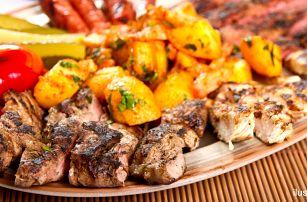 Mix grilovaných mas pro dvojice i rodinu