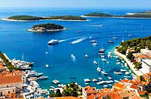 Chorvatsko, Makarská 8 dní pro 1 osobu v mobilhomu v kempu s pláží