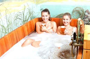 3denní pivní wellness pobyt pro 2 ve Wellness hotelu Green Paradise**** v Karlových Varech