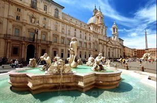 Příjemný pobyt v Římě ve 3* hotelu kousek od centra