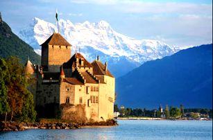 Nádherný 3-denní zájezd do Švýcarska plný poznání, navštívíte hrad Chillon a města Lausanne a Ženeva