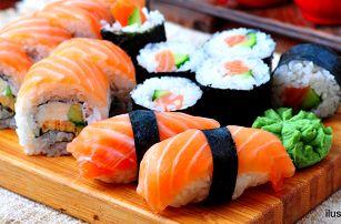 Running sushi: 2hodinová hostina ve Wok'n'roll
