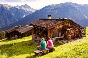 Aktivní pobyt plný výletů v rakouských Alpách