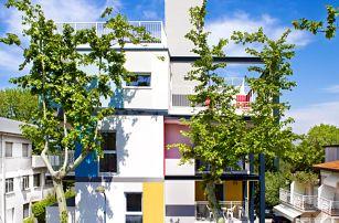 8–10denní Itálie, Lignano | Moderní Villa Lucchese**** | Klimatizace | Terasa s lehátky