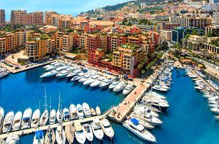 Prázdninový víkendový výlet do Monaka