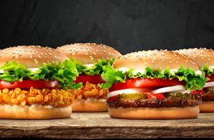 Křupavé kuřecí a hovězí pochoutky v Burger King