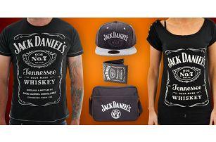 Trička a módní doplňky s logem Jack Daniel's