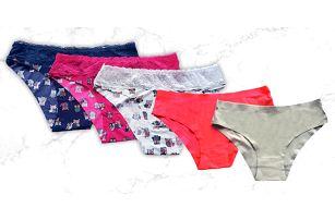 Dámské kalhotky v balení po 2 nebo 3 kusech