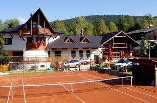 Pension Venus v Harrachově s polopenzí, saunou a překvapením pro děti