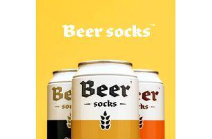 Vtipné pivní ponožky Beer Socks