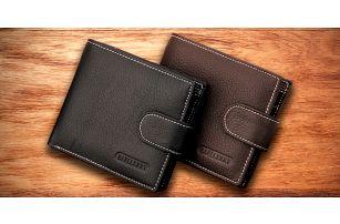 Elegantní kožené pánské peněženky