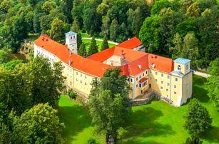 Polské lázně Ladek-Zdrój na zámku